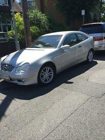 Mercedes C-Class Silver £3000 ONO