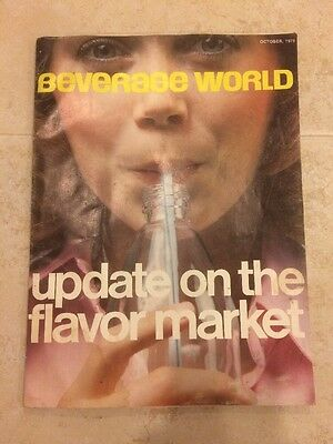 Beverage World October 1976 Vintage Magazine Collectible Advertising Marketing