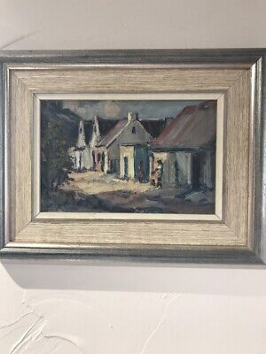 Original Oil Painting By South African Artist Anton Benson