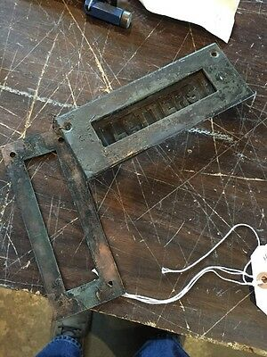 H5 Antique Letter Slot Brass