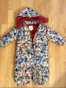 Diesel one piece winter snow suit toddler girl