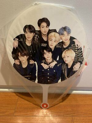 BTS Official Speak Yourself Tour Japan edition group image picket