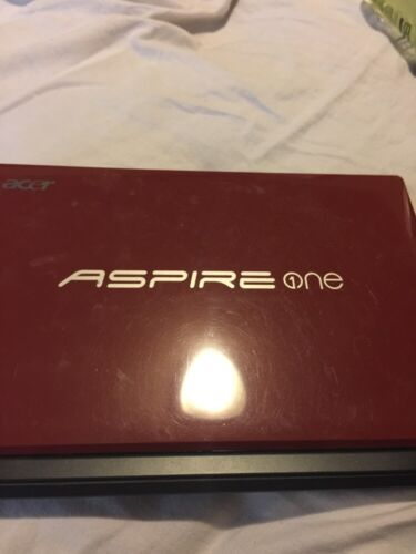 """Aspire One Netbook D255 10.1"""" Red"""