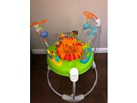 Fisher-Price Roaring Rainforest Jumperoo - Great condition