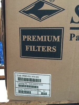 Bag Filter Socks 1 Micron Size 1 Sunmicron Polyester New Box Of 50 15 Inch