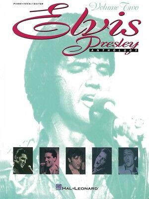 Elvis Presley Anthology Volume 2 Sheet Music Piano Vocal Guitar Book 000308199
