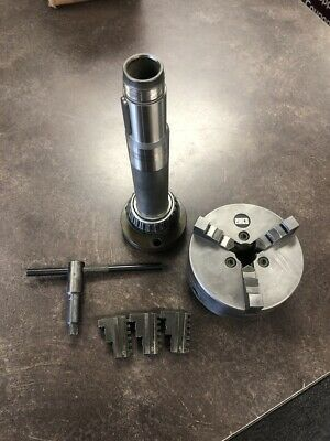 Emco 3 Jaw Mini Lathe Chuck 2910z0 With Key And Extra Jaws