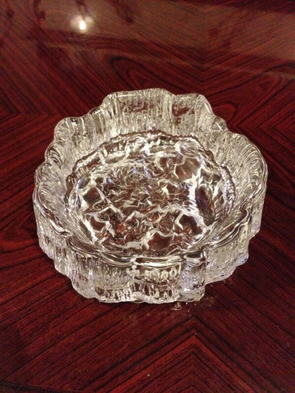 Fantastic Vintage Woodbark Bowl - Whitefriars?