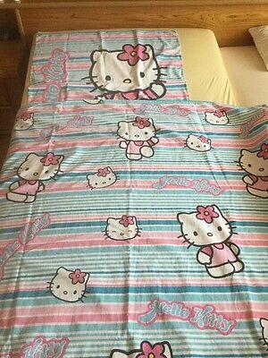Schöne Hello Kitty Bettwäsche 2 teilig
