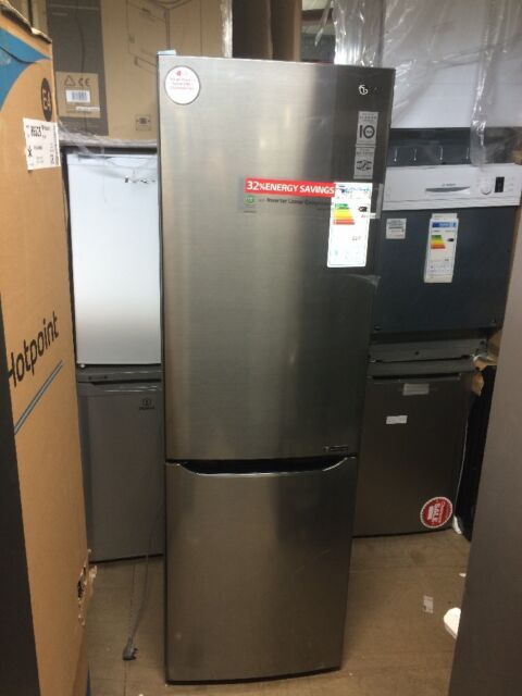 BRAND NEW TALL LG GBB59PZRZS Fridge Freezer Frost free A++ 300 litres Steel 60cm