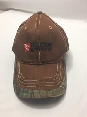 Tsc Tractor Supply Co Camo One Size Fits All Velcro Adjustable Hat Cap