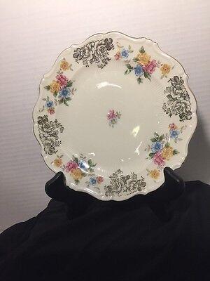 """Vintage Porcelain Schirnding Bavaria Del 1950 8"""" Plate."""
