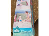 Sun tent for baby UV protection ELC