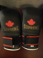 punching gloves and head gear junior size xs and medium/large