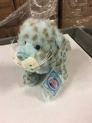 Webkinz Icy Mist Leopard Soft Plush Animal With Online Code From Ganz