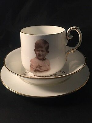 Vintage Paragon A Souvenir Of Prince Charles Baby Child Portrait By Marcus Adams