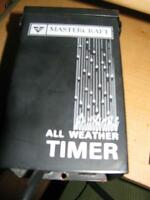 Mastercraft all weather timer