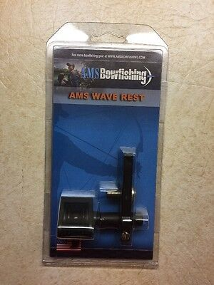 0ae85fbcd7 AMS BOWFISHING WAVE REST FITS RH or LH. M151 New