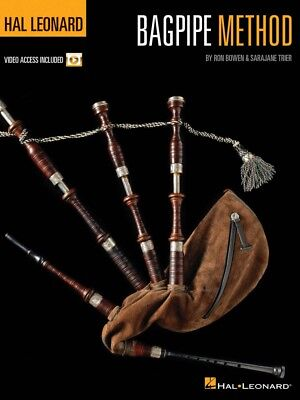 Hal Leonard Bagpipe Method - Instructional Book with Online Video NEW 000102521