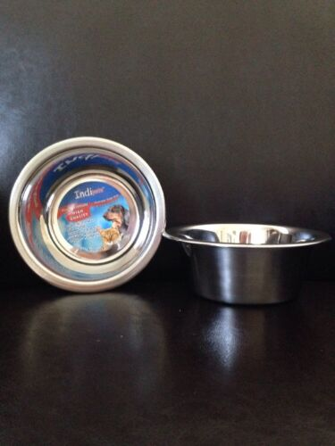 Stainless Steel Dog/Cat Bowls - NEW