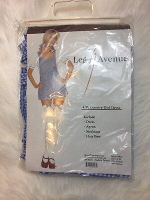 Leg Avenue Dorothy Costume Cosplay Adult Female Size Small Medium 4 Piece](Dorothy Cosplay)
