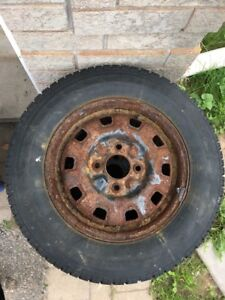 """14"""" Nordic 185/70R14 Winter Tires with 4x114.3 Steel Rims"""