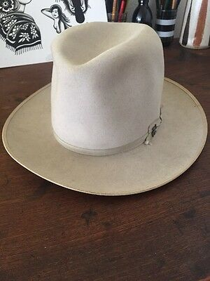 1950's Stetson Open Road Hat Whirling Log Pin Vintage Fedora Workwear final list