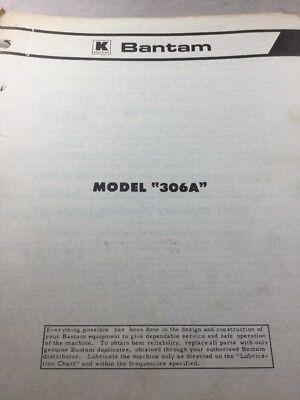 Bantam Model 306a Parts Catalog