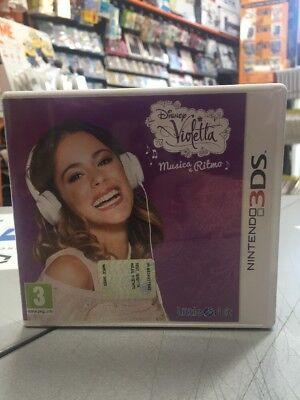 Violetta Musica e Ritmo Ita 3DS 2DS USATO GARANTITO segunda mano  Embacar hacia Spain