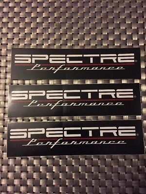 """Spectre Performance RACING DECAL STICKER 6x1.5 INCH """"FREE SHIPPING"""" nhra Offroad"""