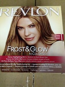 2-Pack-Revlon-Frost-amp-Glow-Honey-Highlighting-Kit-For-Medium-to-Dark-Brown-Hair