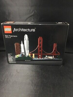 Authentic Lego Architecture San Francisco 21043 (565 Pieces) FACTORY SEALED