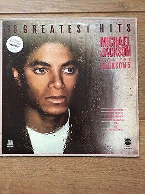 Michael Jackson - Greatest Hits- Fair Condition Vinyl LP