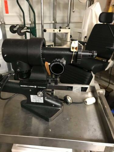 BAUSCH & LOMB DUAL SCALE KERATOMETER, EXCELLENT CONDITION.