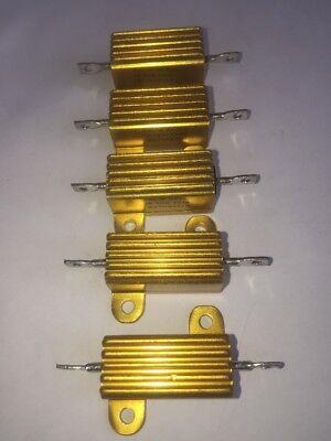 Cal-r 5 Pack 20 Watt 634 Ohm 1 Tolerance Resistors. Re70g634o Cal- R Mc 250