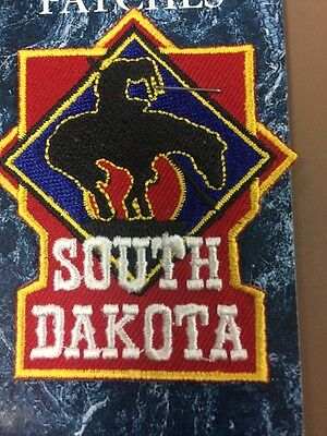 Souvenir Patch From South Dakota-End Of The Trail