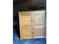Cotswold collection pine cupboard