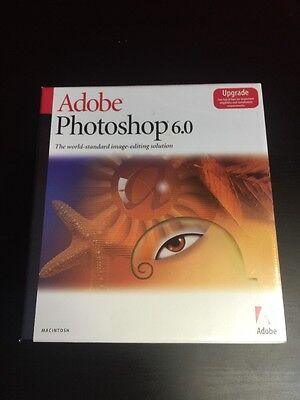 Adobe Photoshop 6.0 Upgrade Version For Mac. New And Sealed