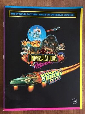 Universal Studios Hollywood 1993 Back To The Future Official Pictorial Guide