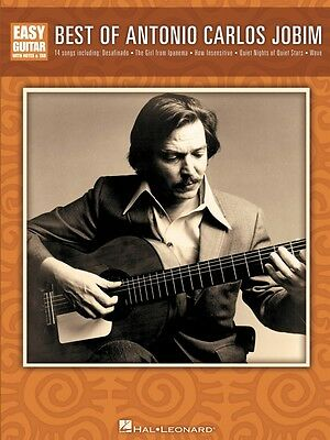Best of Antonio Carlos Jobim Sheet Music Easy Guitar Book NEW (Best Latin Guitar Music)