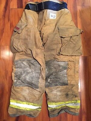 Firefighter Turnout Bunker Pants Globe 40x32 G Extreme Halloween Costume