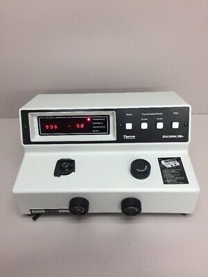 Tested Thermo Spectronic 20d 333183 Spectrophotometer Cover Is Broken