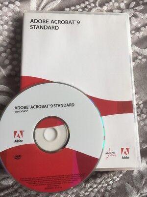 Adobe Acrobat 9 Standard For Windows   Full Retail Version