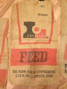 Antique Burlap Feed Sack
