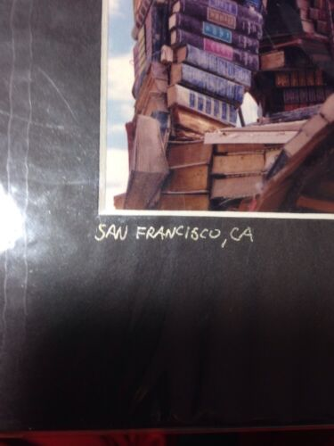 San Francisco Print / Color Photograph - 8 X 10 Matted Richard Trager 2001 - $4.99