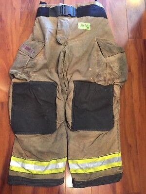 Firefighter Bunker Turnout Gear Pants Globe 38x30 G Extreme Costume 2009