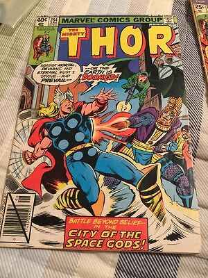 Marvel Comics- Mighty Thor #284 June 1979 And #226 Aug 1974