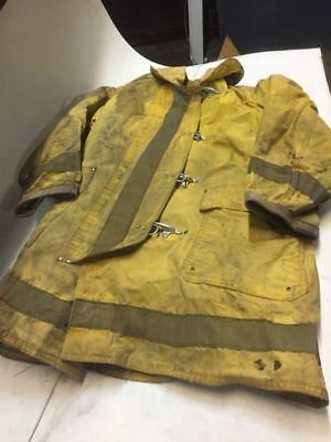 Janesville Apparel Firefighter Coat Wliner Sz Medium Welding Torch Coat