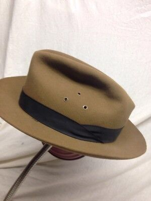 VTG STETSON FELT HAT THE SAFARI COLLECTION SIZE 6 3/4