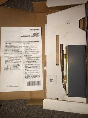 Honeywell Aquastat Controler L6006a - 1145 In Original Box
